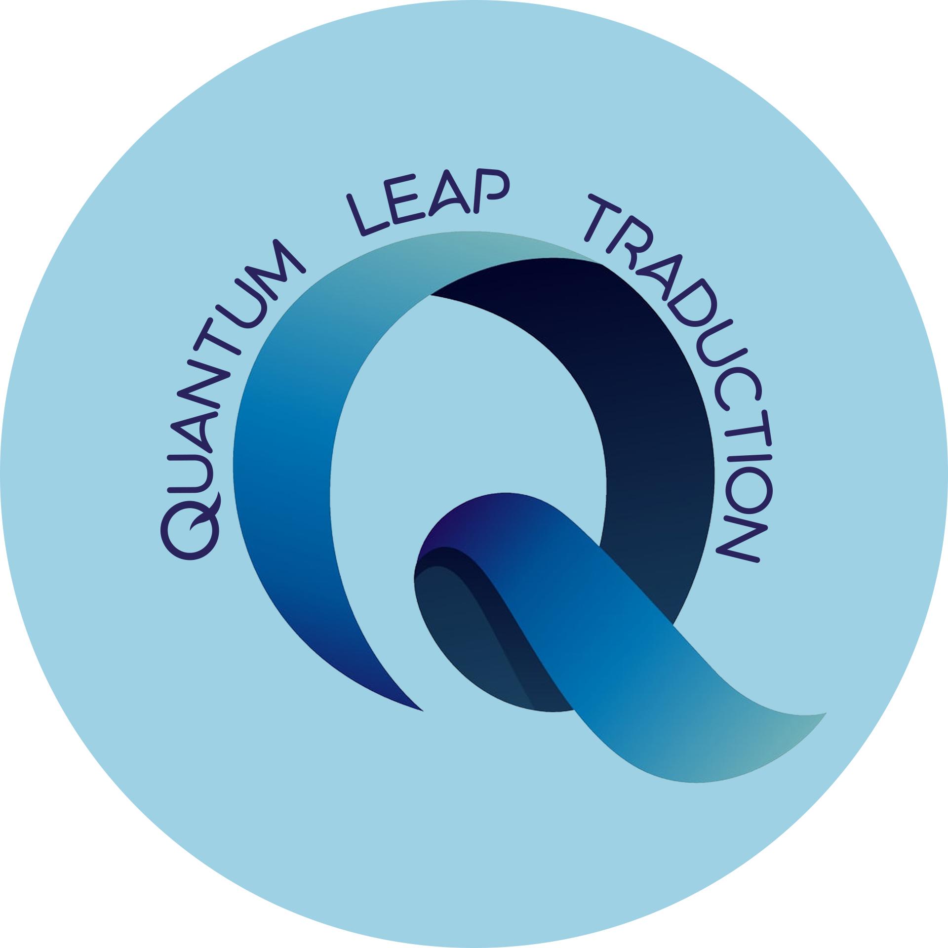 Logo Quantum Leap Traduction